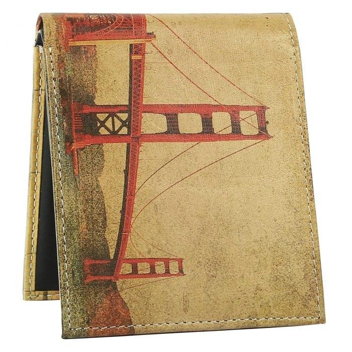 golden gate bridge mens wallet