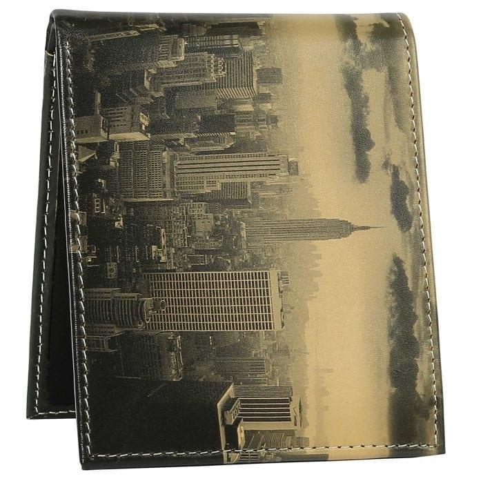 newyork skyline mens wallet