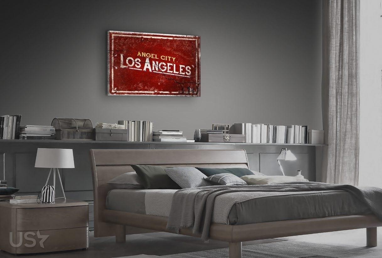 Angel City - Bedroom