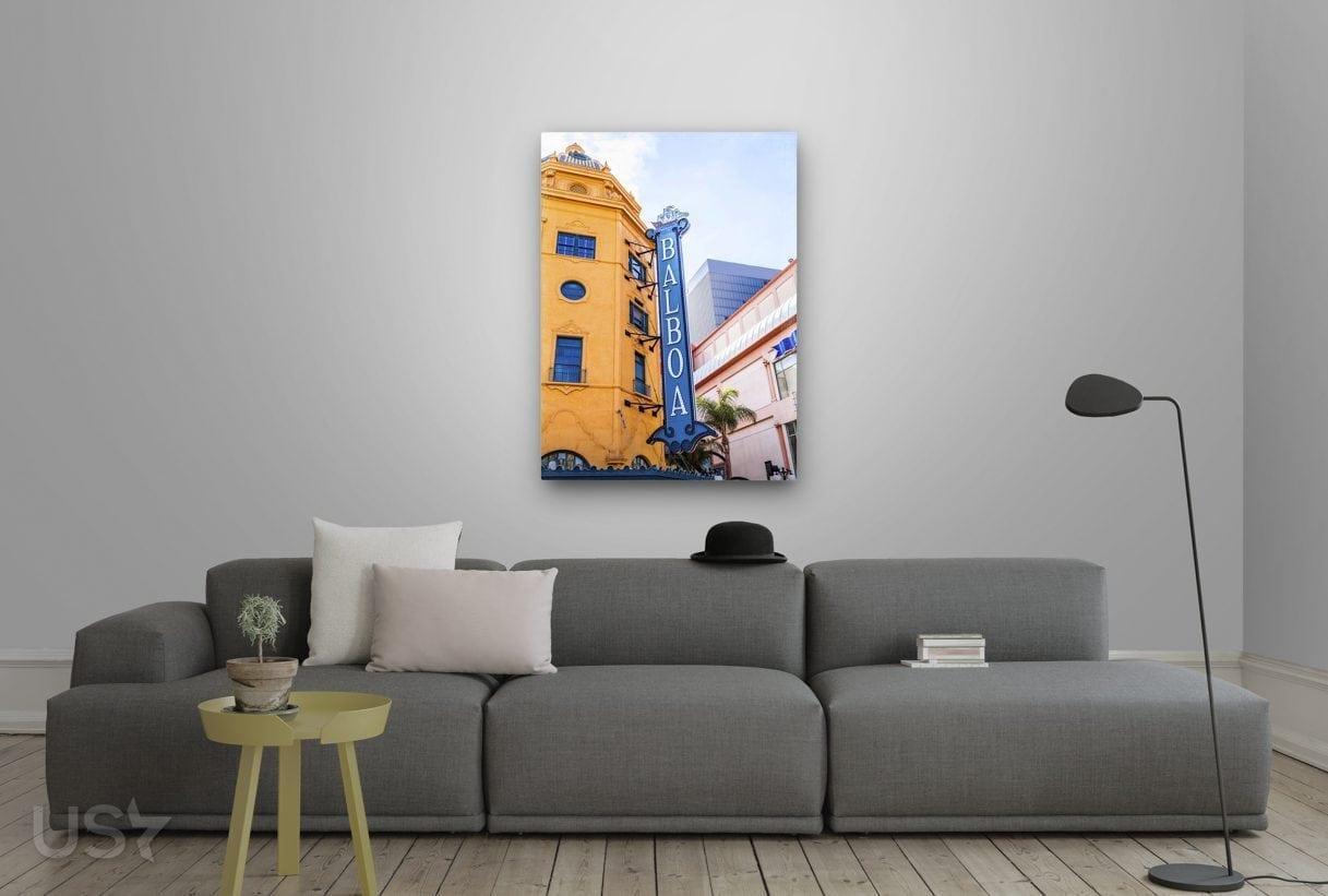 Balboa Sign - Living Room 2