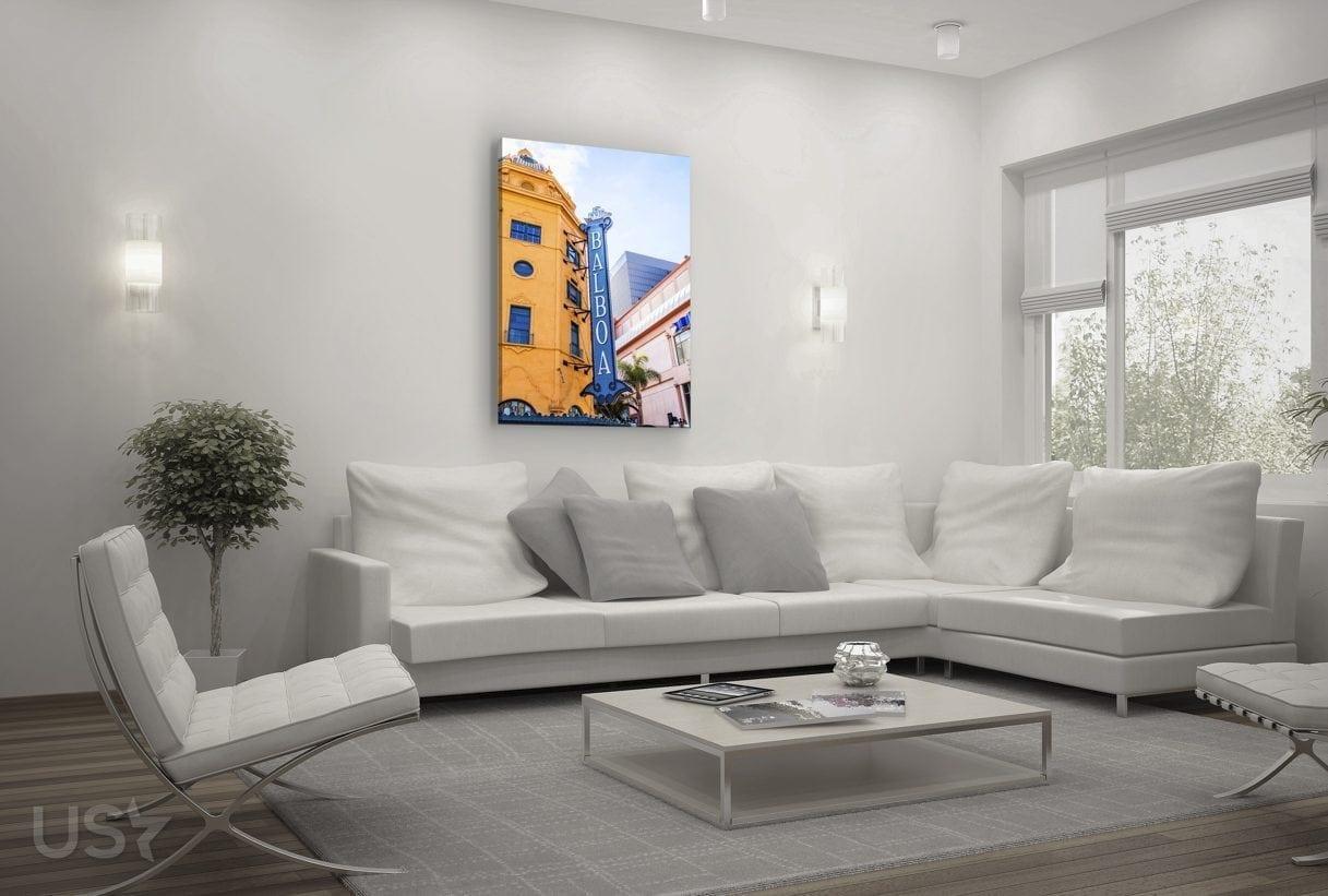 Balboa Sign - Living Room