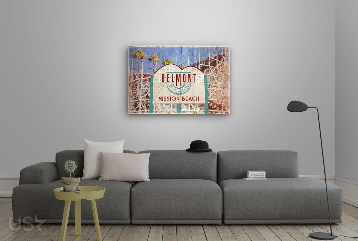 Belmont Mission Beach - Living Room 2