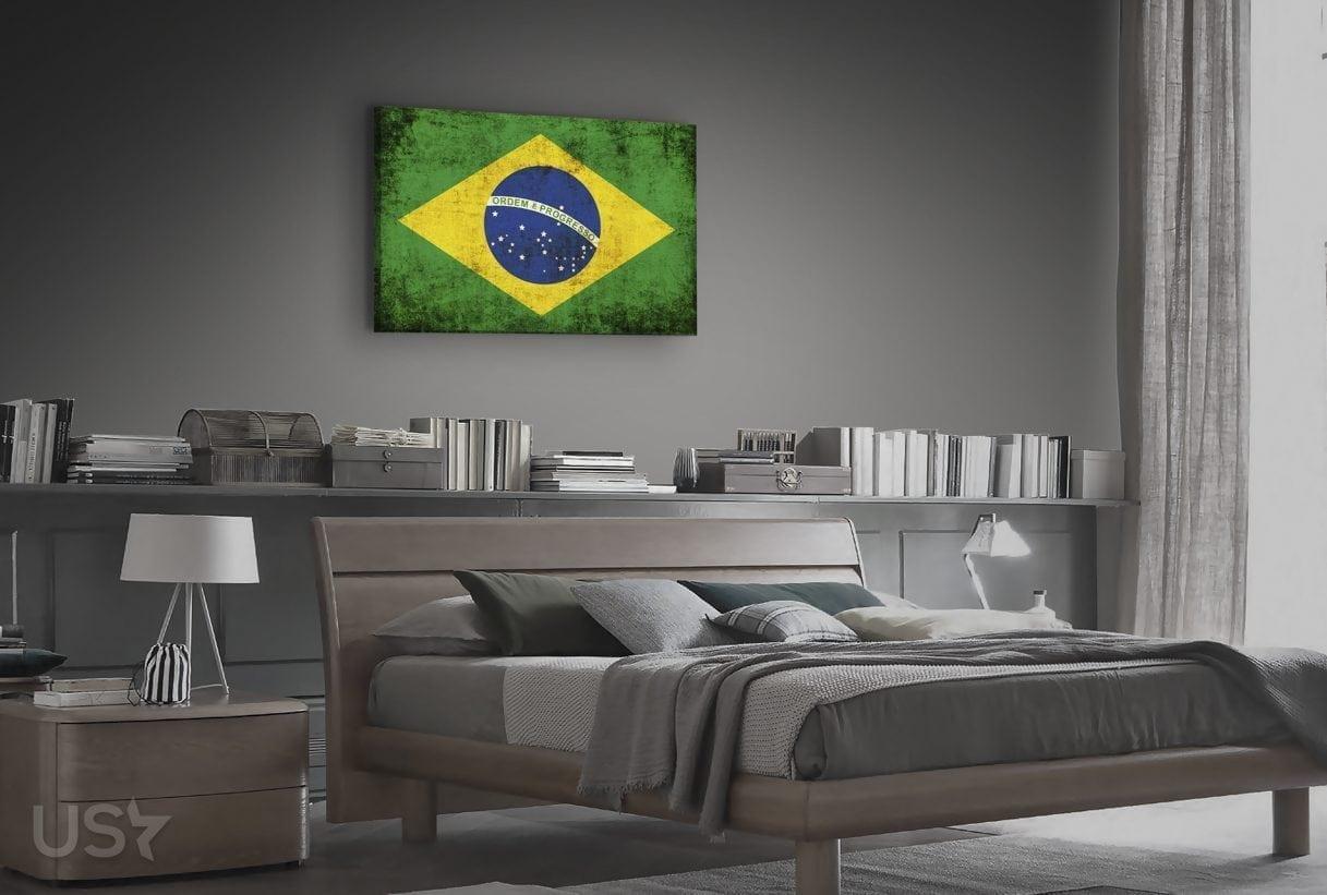 Brazil Flag - Bedroom