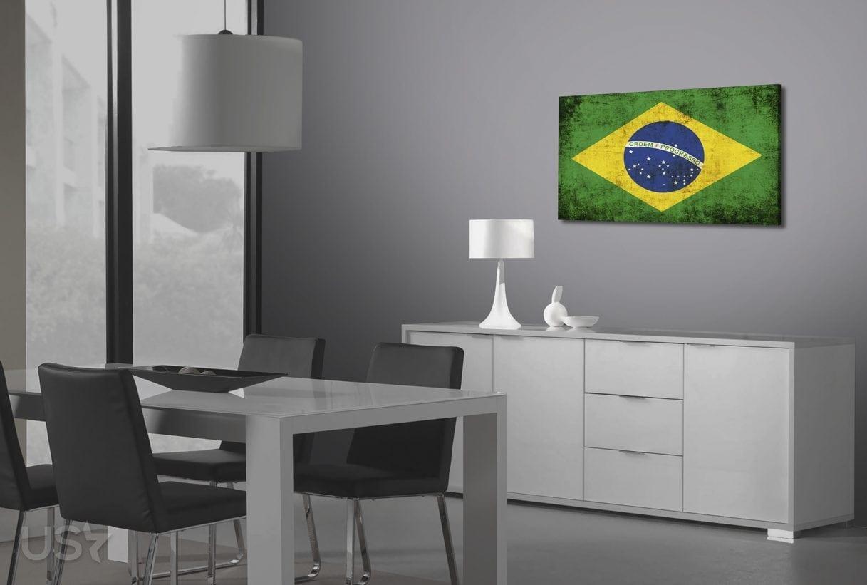 Brazil Flag - Dining Area