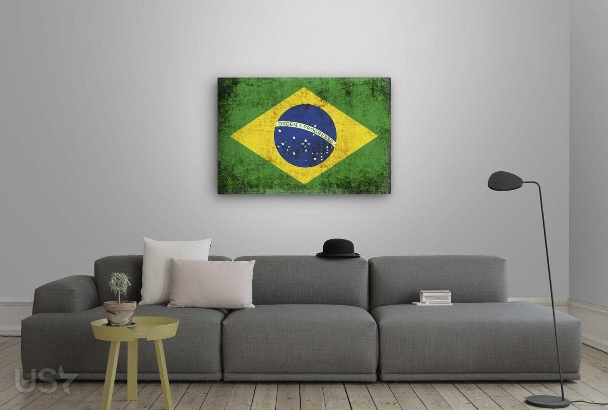 Brazil Flag - Living Room 2