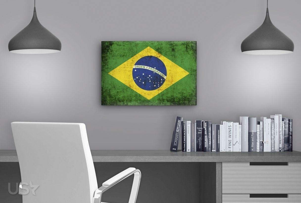 Brazil Flag - Study Table