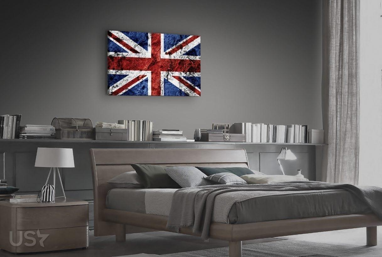 British Flag - Bedroom