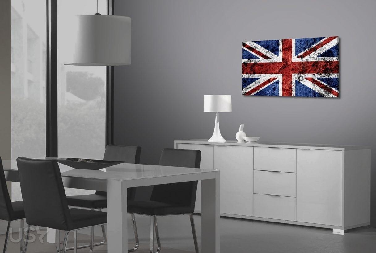 British Flag - Dining Area