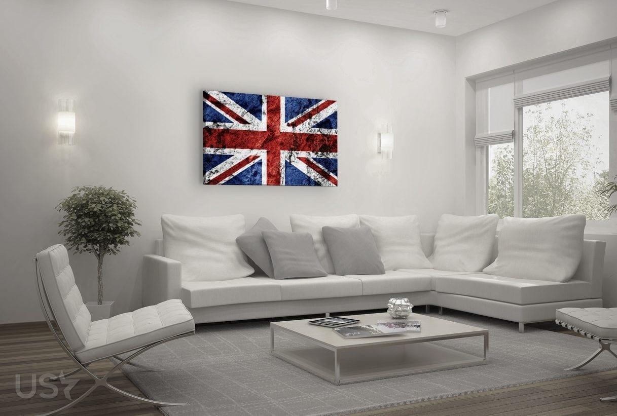 British Flag - Living Room