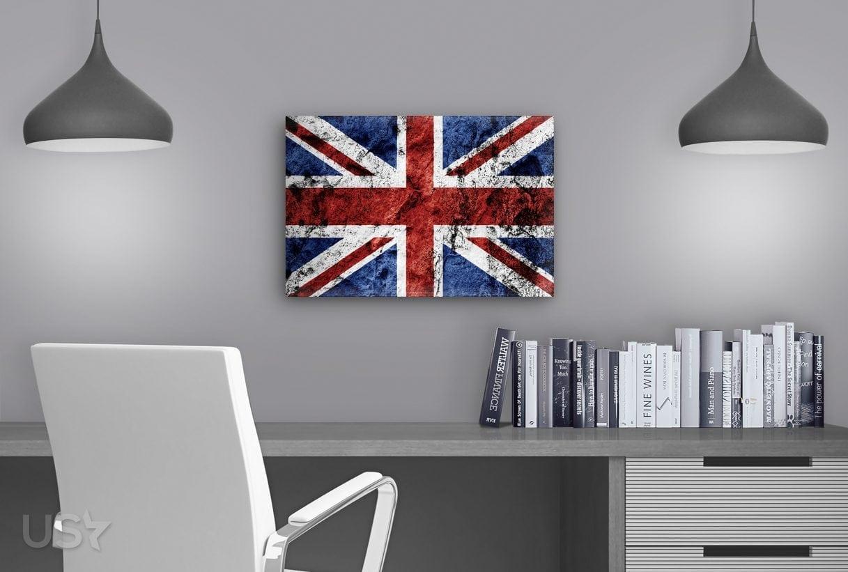 British Flag - Study Table