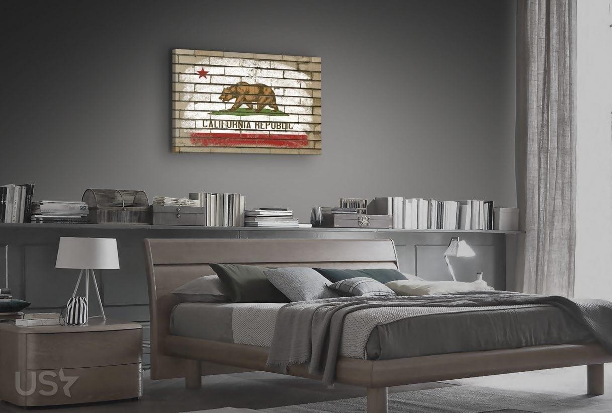 California Flag - Bedroom
