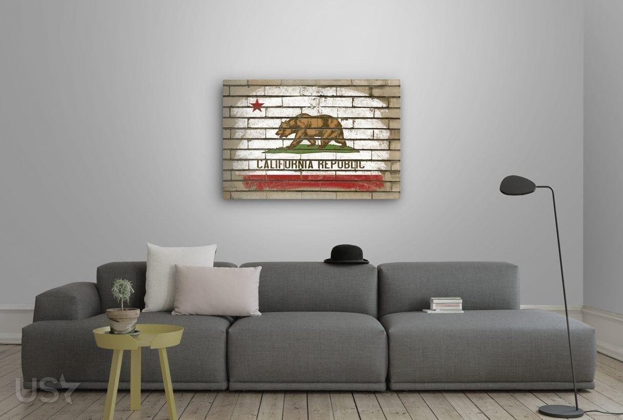 California Flag - Living Room 2