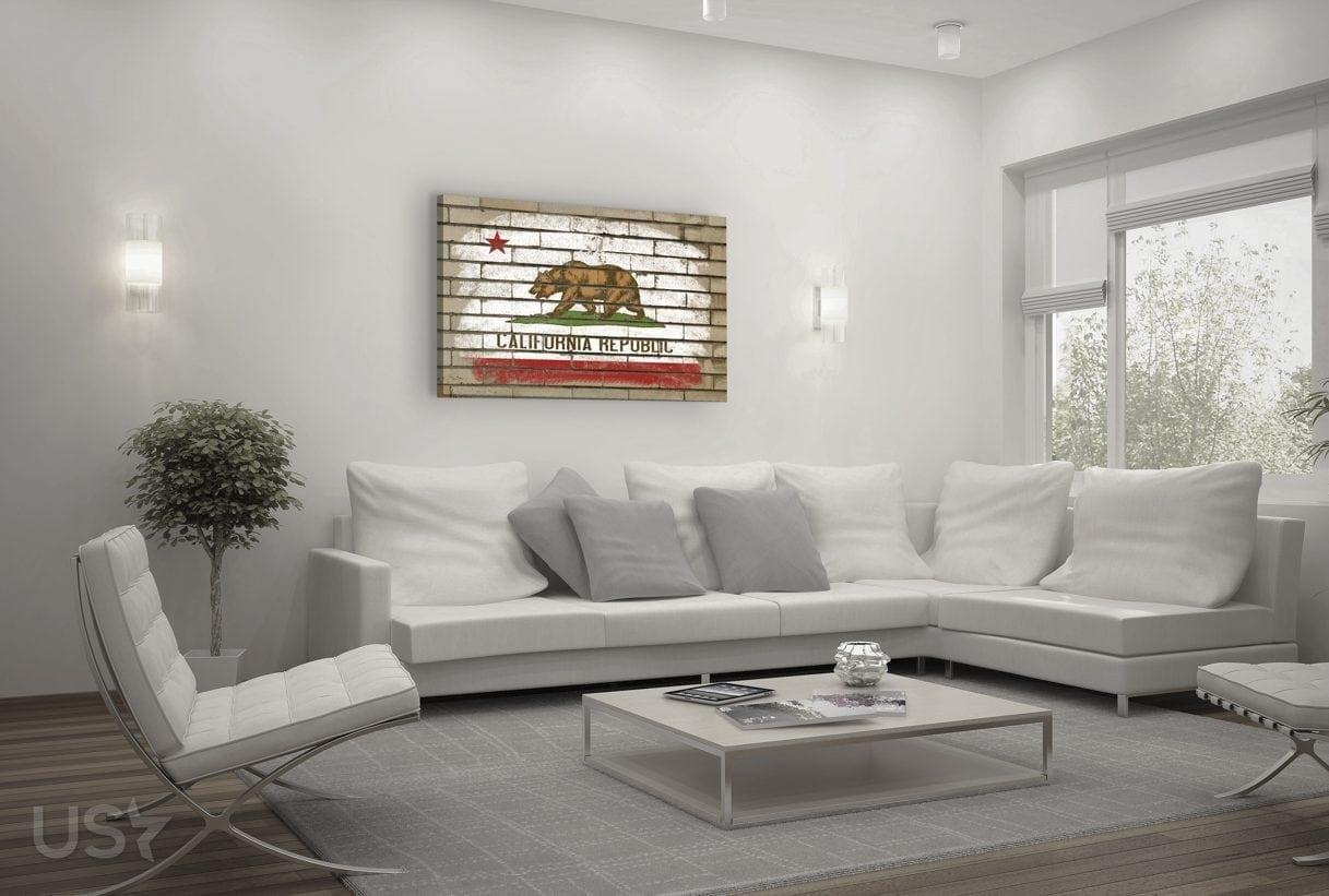California Flag - Living Room