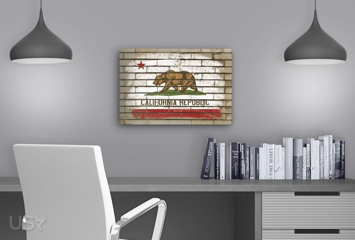 California Flag - Study Table