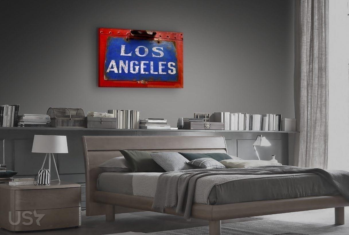 Los Angeles Sign - Bedroom