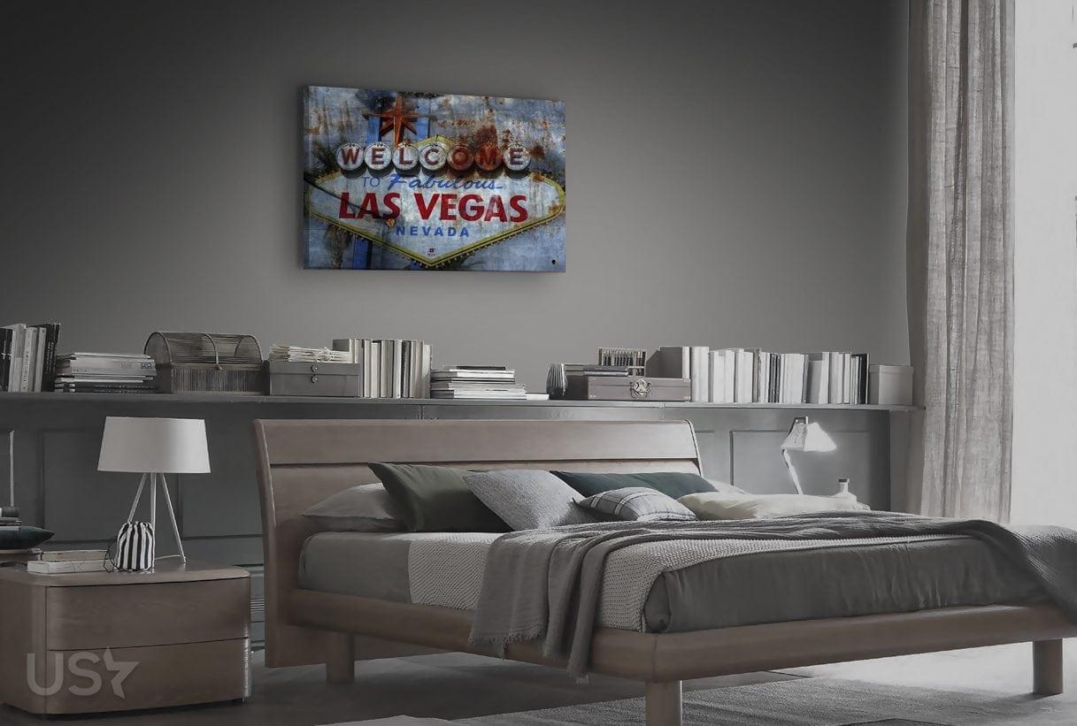 Las Vegas Sign - Bedroom