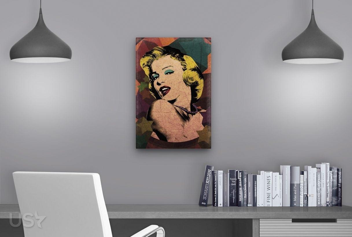 Marilyn Pop Art - Study Table