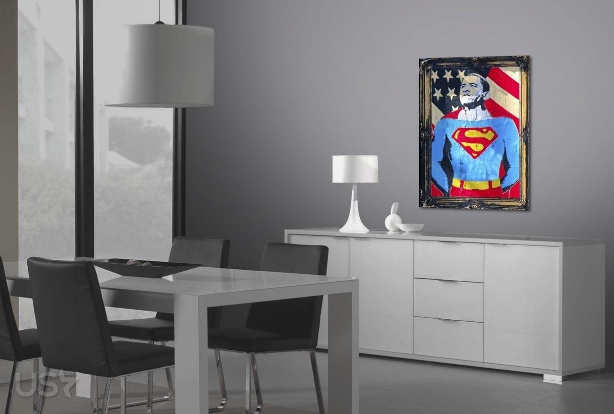 Super Obama Pop Art - Dining Area