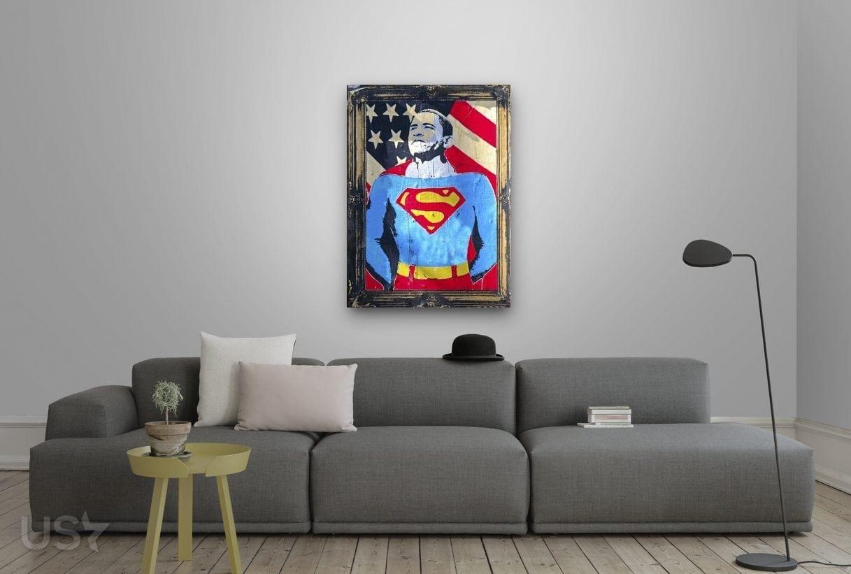 Super Obama Pop Art - Living Room 2