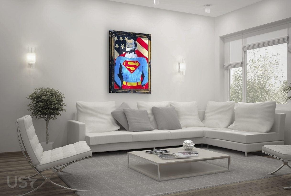 Super Obama Pop Art - Living Room