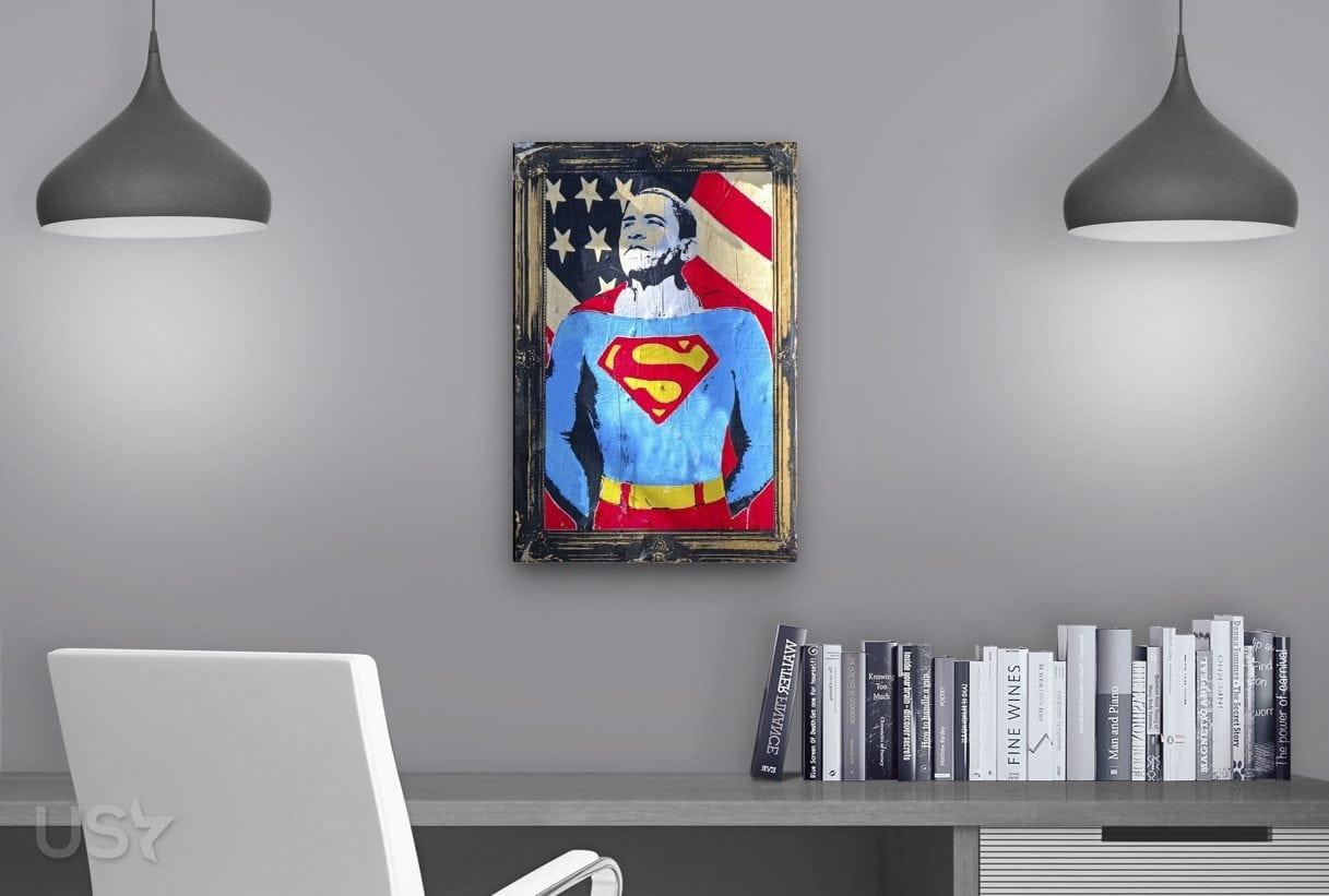 Super Obama Pop Art - Study Table