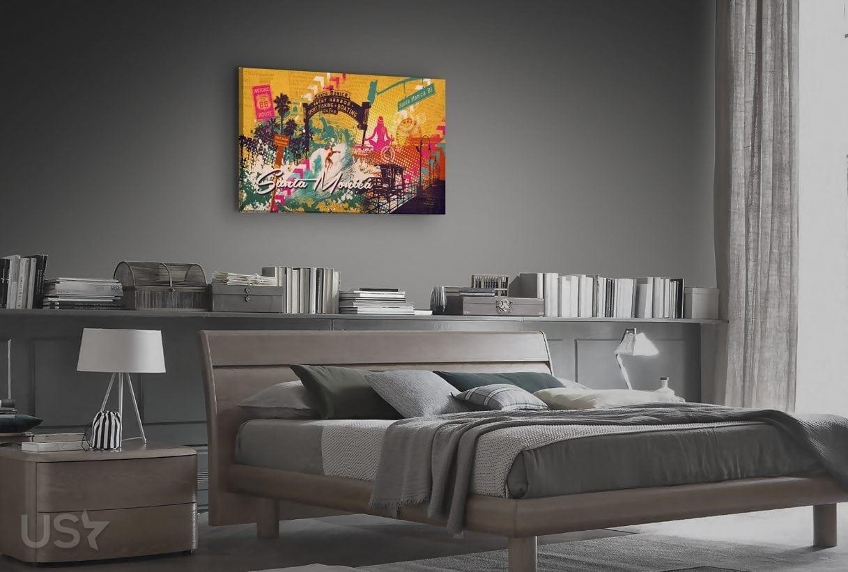 Santa Monica Collage - Bedroom
