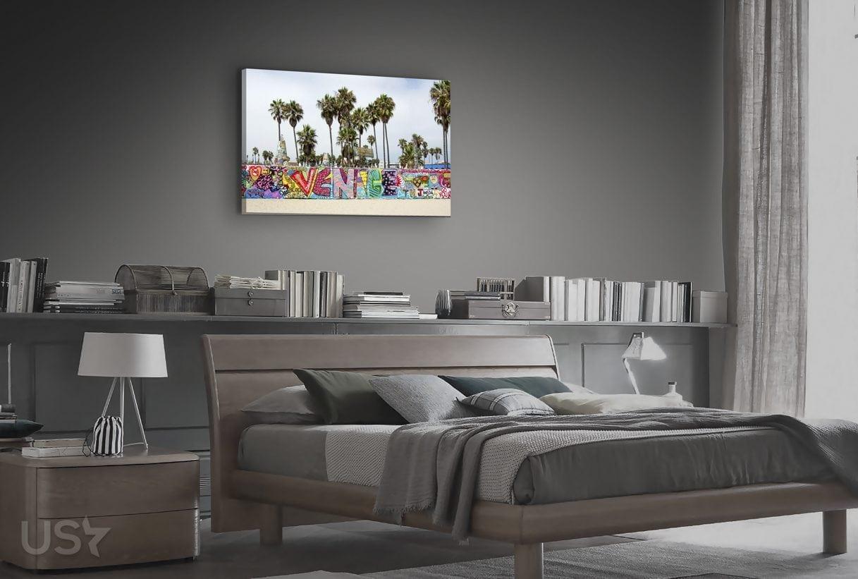 Venice Beach Graffiti - Bedroom
