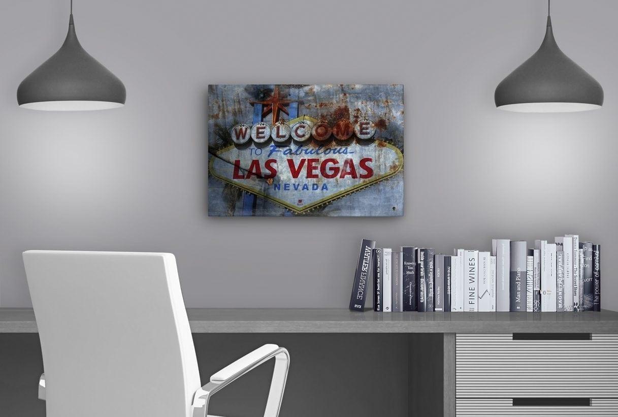 Las Vegas Sign - Study Table