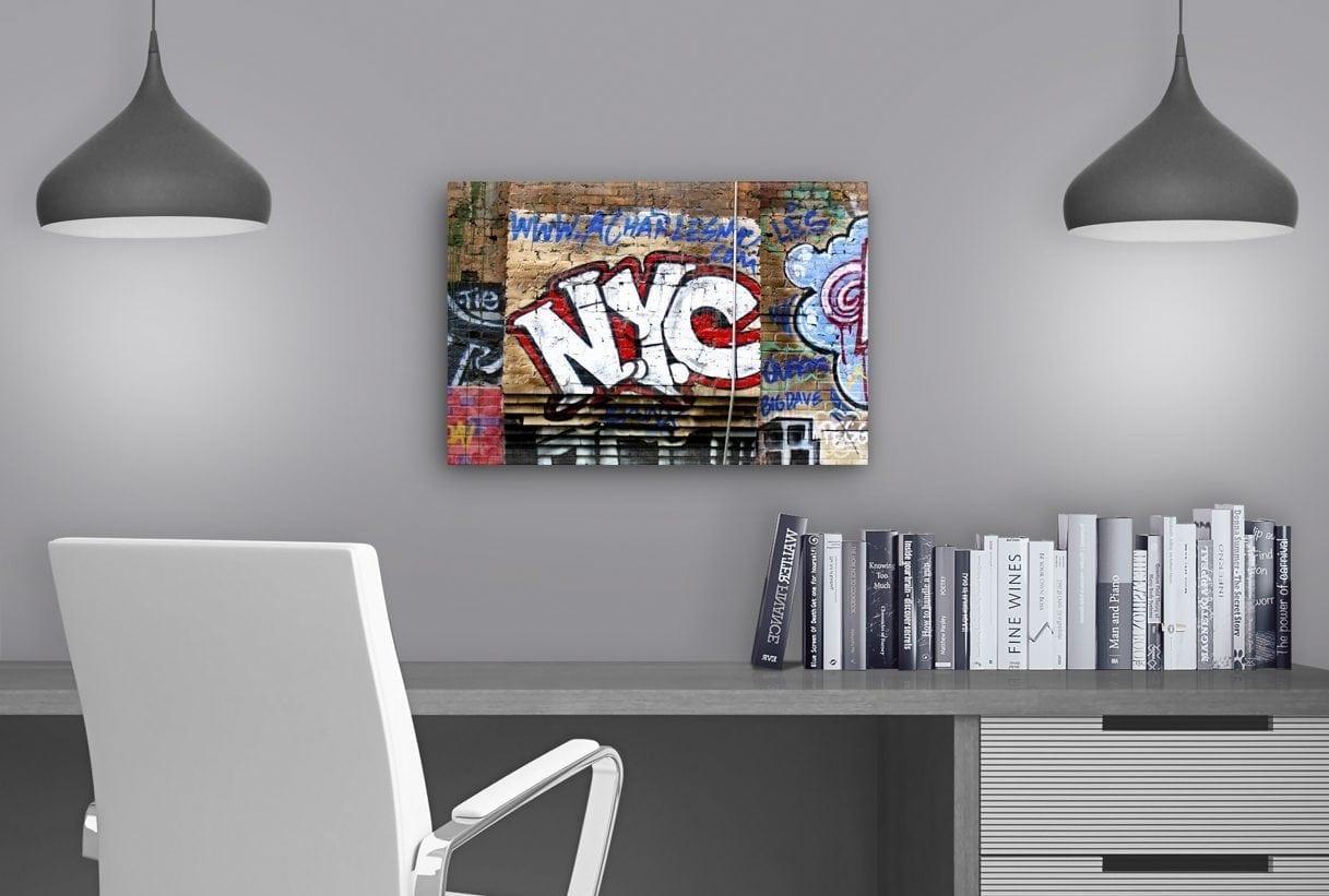 NYC Graffiti - Study Table