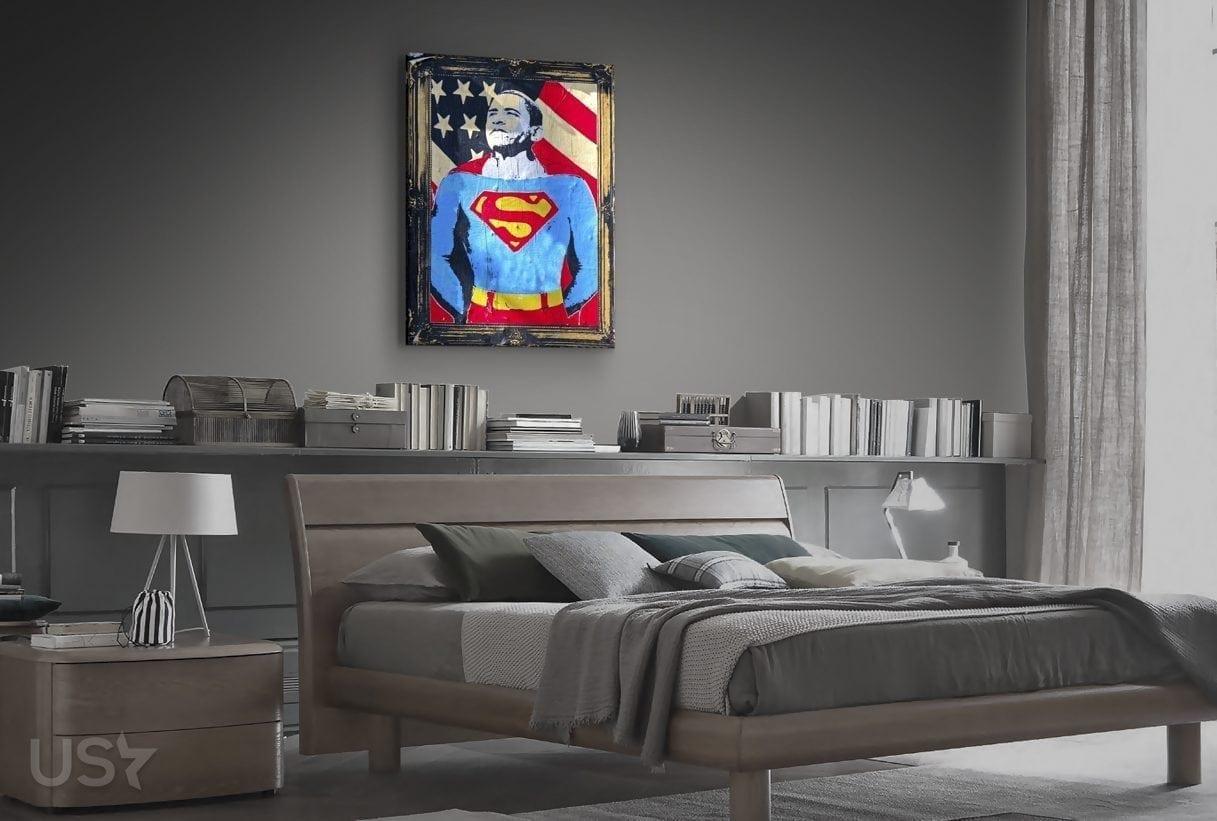 Super Obama Pop Art - Bedroom