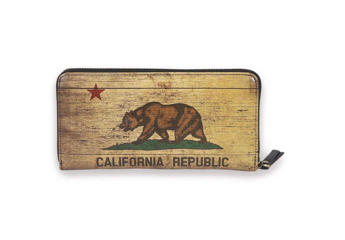 CA Flag Vintage