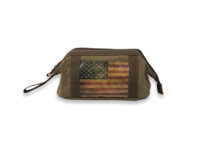 American Flag washbag