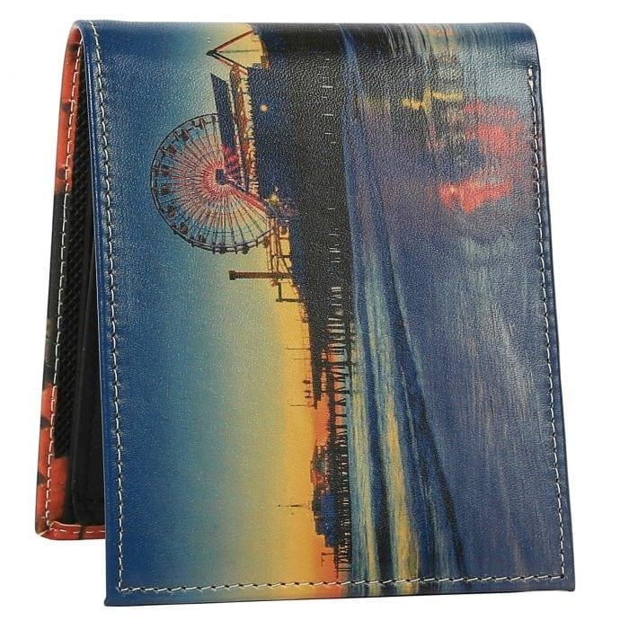 Santa Monica Pier Mens Wallet