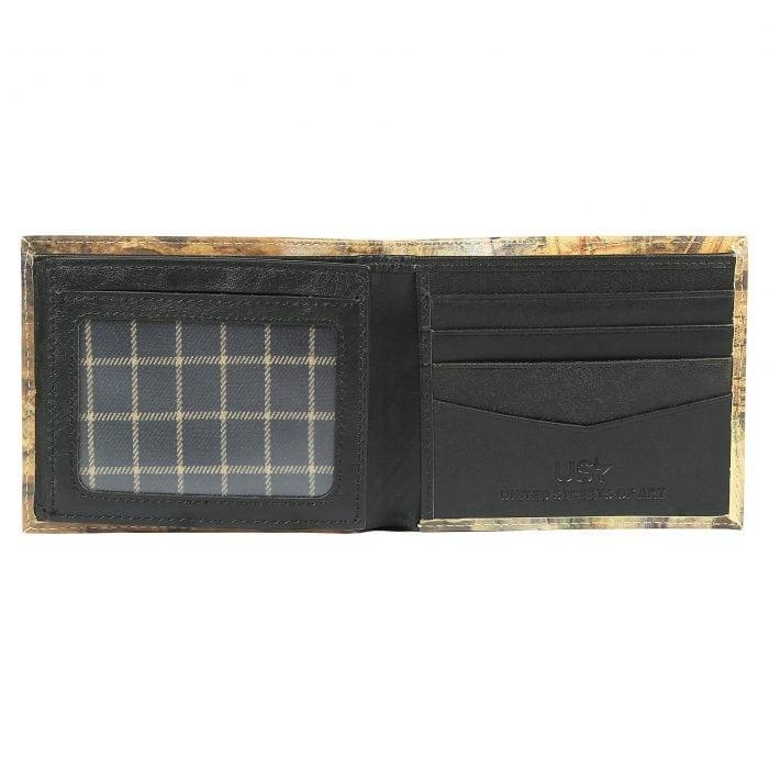 Paris Collage Leather Wallet