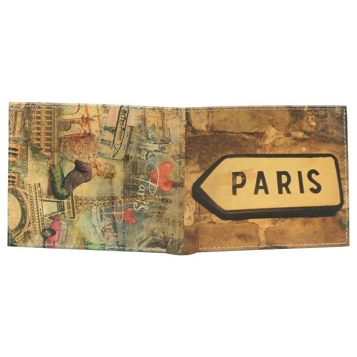 Paris Collage Wallet