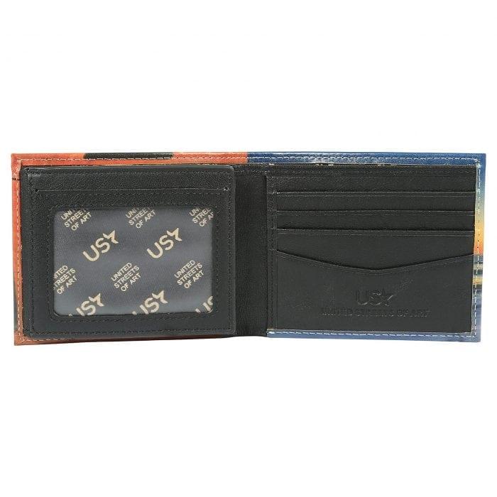 Santa Monica Pier Los Angeles Leather Wallet