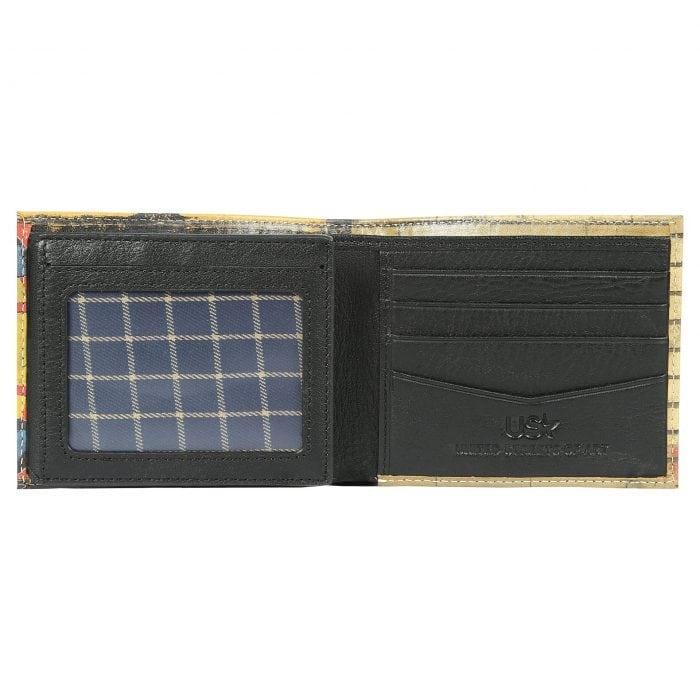 Super Obama Leather Wallet