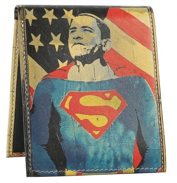 Super Obama Mens Wallet