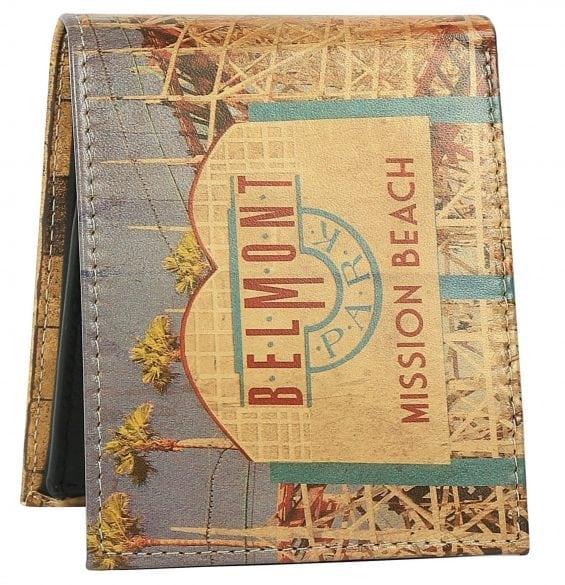 belmont park mens wallet
