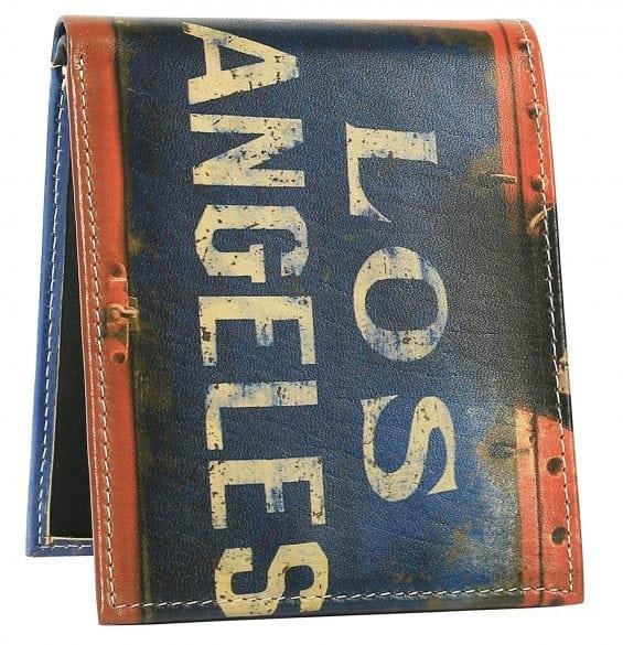 los angeles sign mens wallet