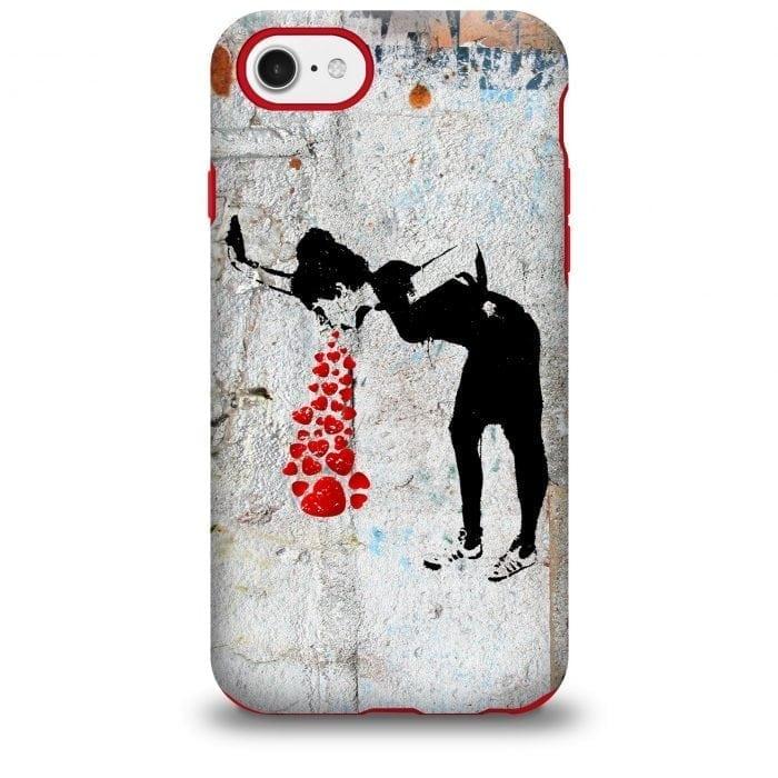 Banksy Lovesick iPhone Case