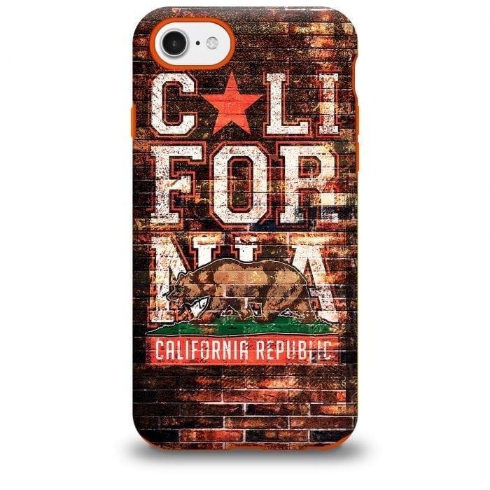 California Collage iPhone Case