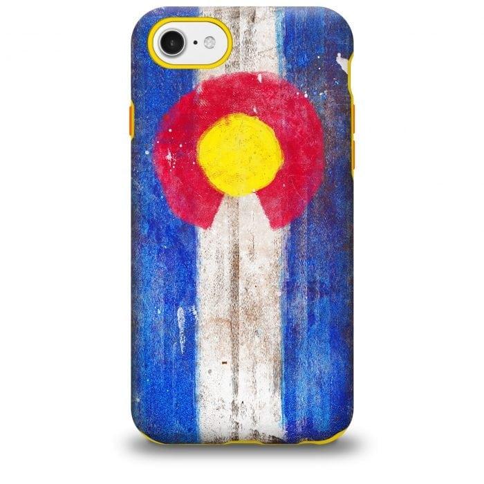 Colorado Flag iPhone case