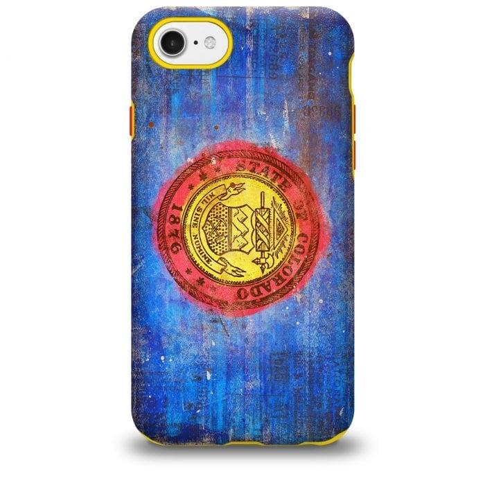 Colorado Seal iPhone case