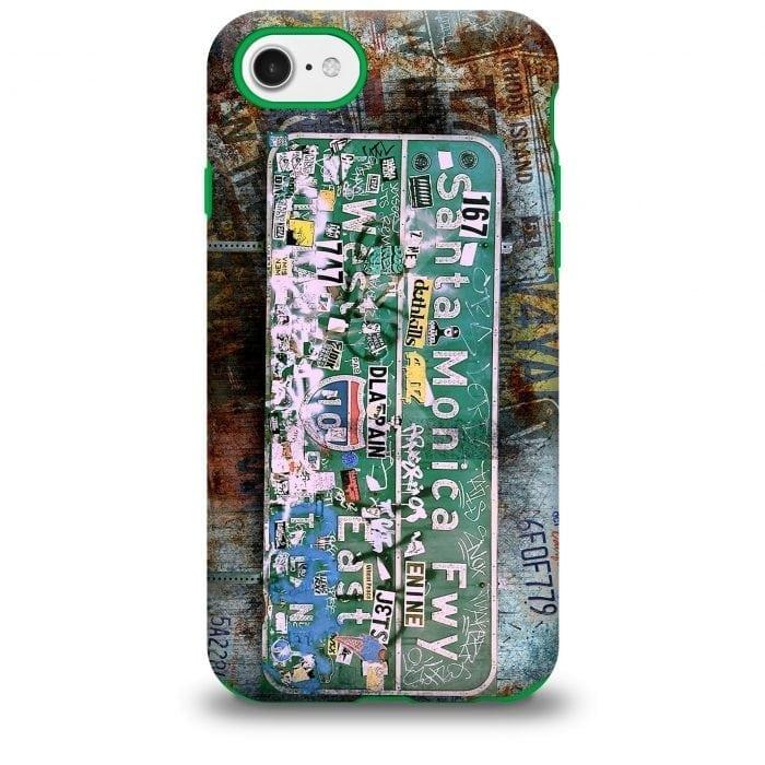 Santa Monica Freeway iPhone Case