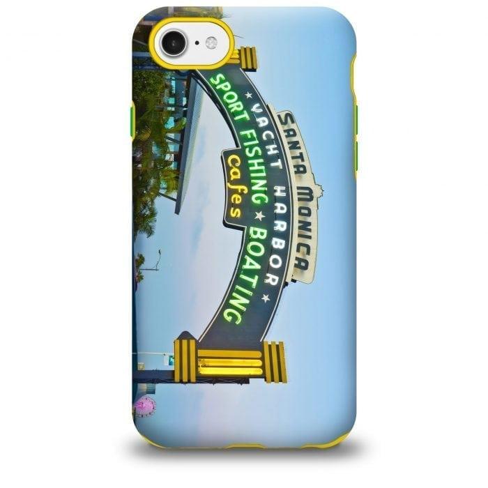 santa monica pier sign iPhone case