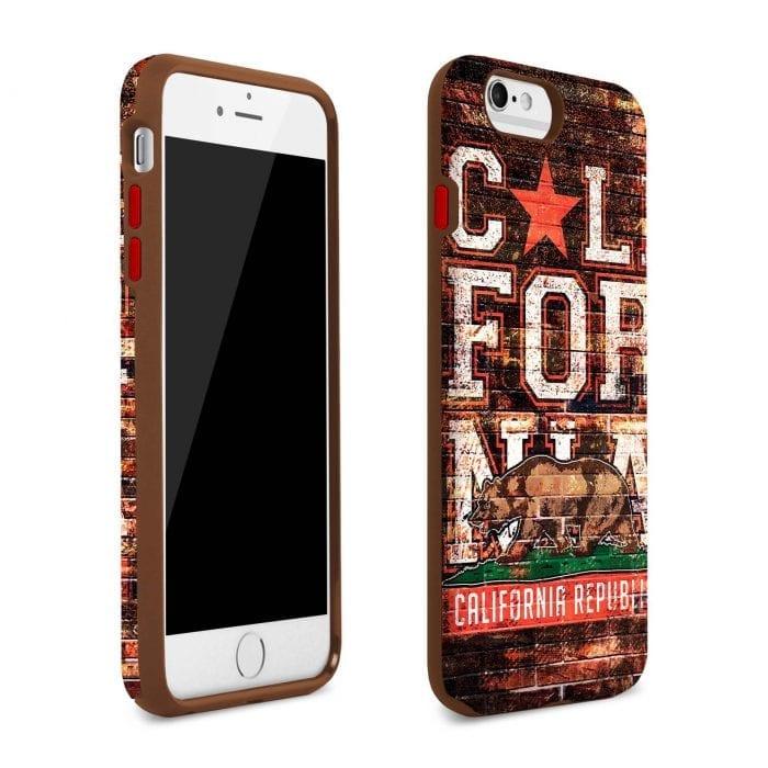 california republic iphone plus case 1