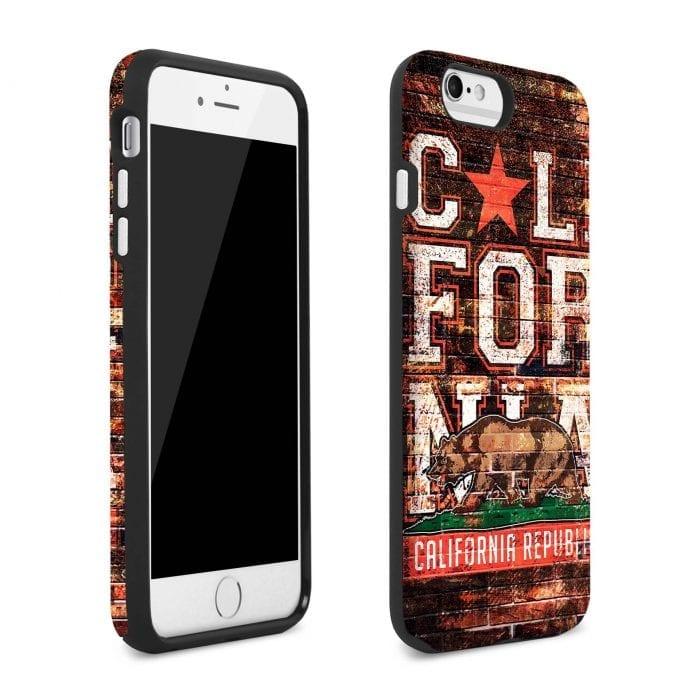 california republic iphone plus case 2