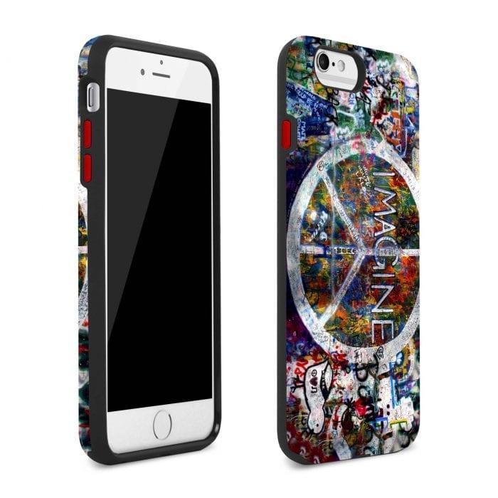 imagine peace iphone plus case 1