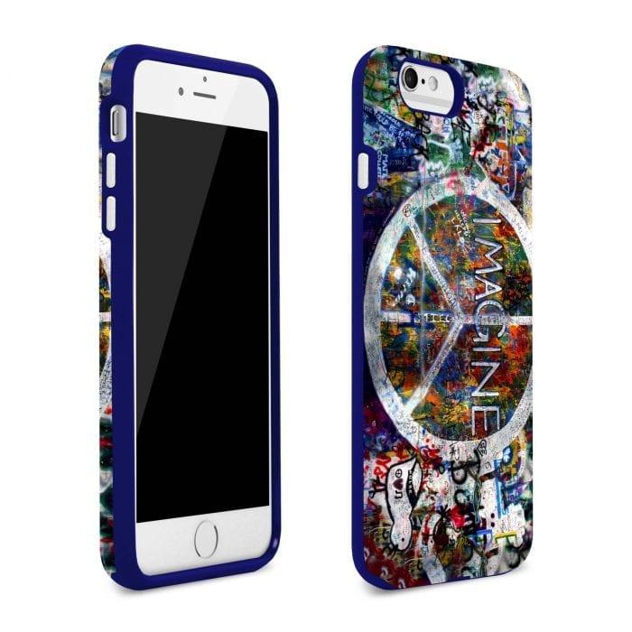 imagine peace iphone plus case 2